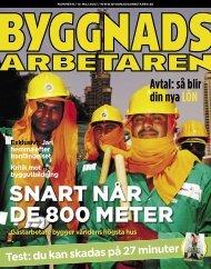 Nr 08 2007 (PDF 2,3 MB) - Byggnadsarbetaren