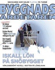 Nr 01 2006 - Byggnadsarbetaren