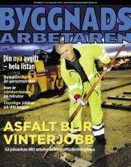 Nr 01 2007 - Byggnadsarbetaren