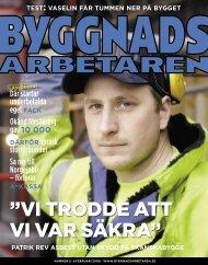 Nr 02 2006 (PDF 6,9 MB) - Byggnadsarbetaren