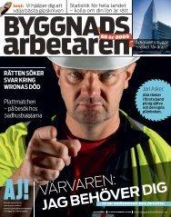 Nr 11 2009 (PDF 10,6 MB) - Byggnadsarbetaren