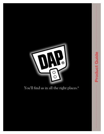 DAP USA Retail Product Guide