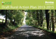 Draft Rural Action Plan 2013-2015 - Northern Ireland Housing ...
