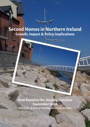 Second Homes in Northern Ireland - Growth, Impact & Policy ...