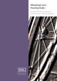 Wheelchair User Housing Study - Northern Ireland Housing Executive
