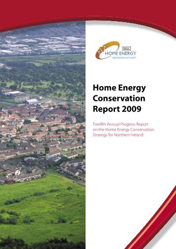 Home energy conservation report 2009 - Northern Ireland Housing ...