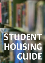 Student Housing Guide - Northern Ireland Housing Executive