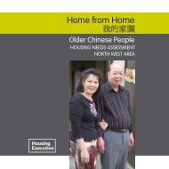 Home From Home - Northern Ireland Housing Executive