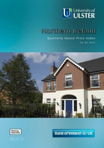 House Price Index for Quarter 1 2013 - Northern Ireland Housing ...