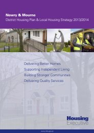 Newry & Mourne - Northern Ireland Housing Executive
