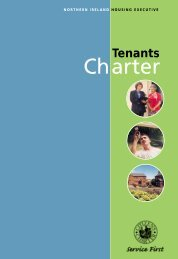 Tenant's Charter - Northern Ireland Housing Executive