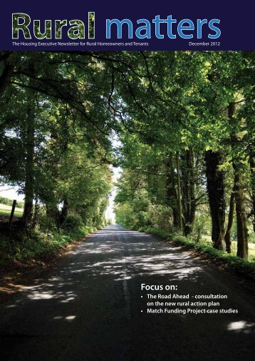 Download the latest edition of Rural Matters - Northern Ireland ...
