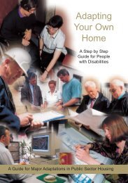 Adapting your Own Home - Northern Ireland Housing Executive