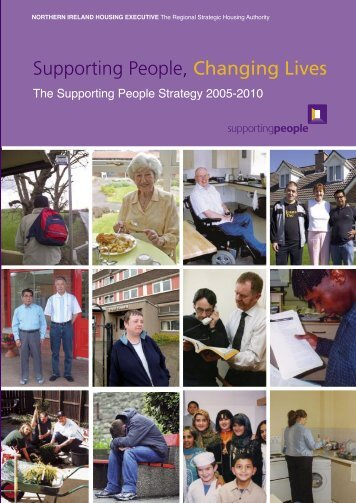 Supporting People Strategy 2005 - Northern Ireland Housing ...