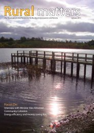 Rural Matters January 2011 - Northern Ireland Housing Executive