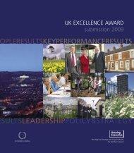UKEA 2009 Submission - Northern Ireland Housing Executive