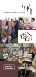 Housing Community Network leaflet July 2008 - Northern Ireland ...