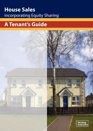 House Sales Incorporating Equity Sharing - A Tenant's Guide
