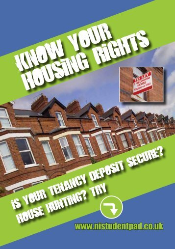 Know your housing rights - a guide for students - Northern Ireland ...