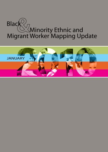 Black and Minority Ethnic and Migrant worker mapping update