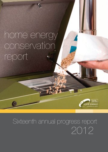 2012 home energy conservation report - Northern Ireland Housing ...