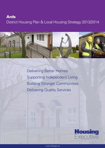 Ards District Housing Plan 2013 - Northern Ireland Housing Executive
