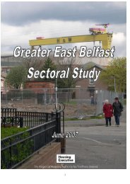 East Belfast Sectoral Study - Northern Ireland Housing Executive