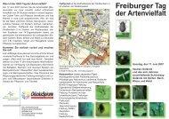 Freiburger Tag der Artenvielfalt - Ökostation Freiburg