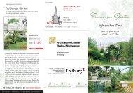 Freiburger Garten - Ökostation Freiburg