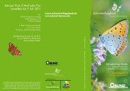 Schmetterlingsland Seminarreihe - Ökostation Freiburg