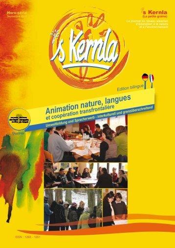 Animation nature, langues et coopération transfrontalière - Ariena