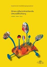 Grenzüberschreitende Umweltbildung - 1 nature 2 langues 1 réseau