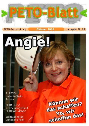 PETO-Blatt Oktober 2005 herunterladen (pdf, 1,85 MB)