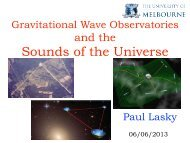 Gravitational Wave Observatories and the Sounds of the Universe