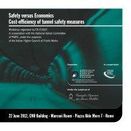 Workshop Safety versus Economics