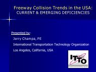 Freeway Collision Trends in the USA: