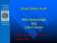 Road Safety Audit Mike Greenhalgh and Lise Fournier