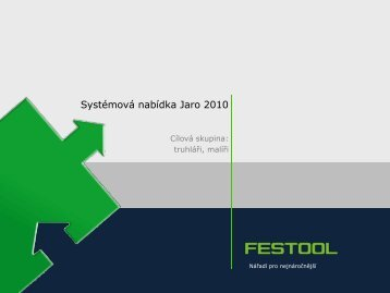 Platí : 01.04.10 - PK Festool