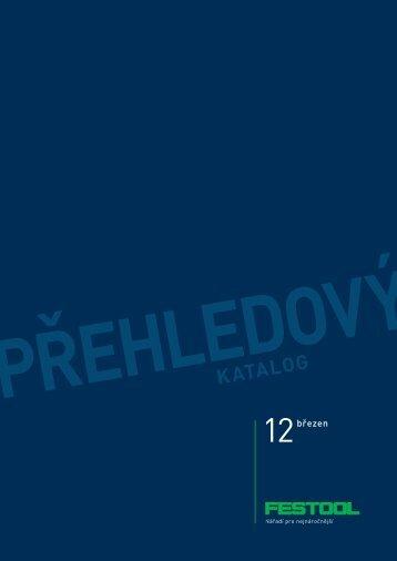 Přehledový kATAlog - PK Festool