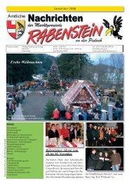 Frohe Weihnachten - Rabenstein an der Pielach