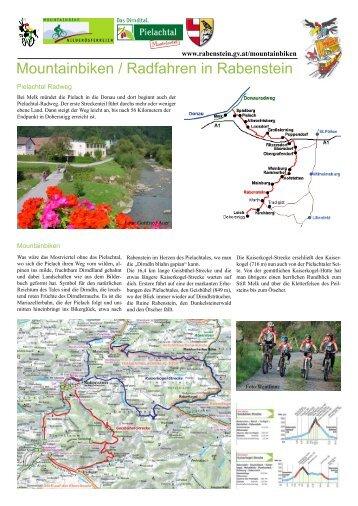 Mountainbiken / Radfahren in Rabenstein - Rabenstein an der Pielach