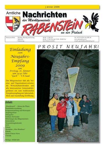 P R O S I T   N E U J A H R! - Rabenstein an der Pielach