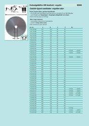 Kreissägeblätter HM-bestückt -negativ- 92000 Carbide ... - Reimpex