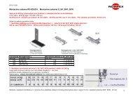 Montavimo kronsteinai RX SOLID- I- II- III 2012 10 - Reimpex