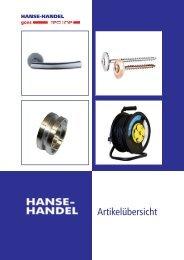 Hanse Handel Katalog - Reimpex