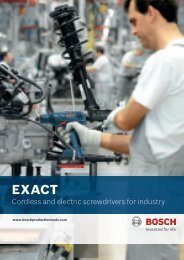 Cordless and electric screwdrivers for industry - Rofo