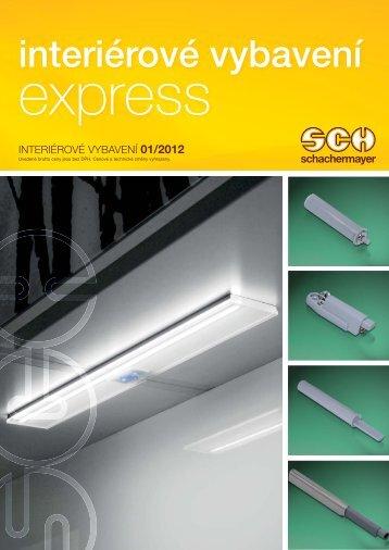 SCH EXPRESS 1/2012 – Interiérové vybavení