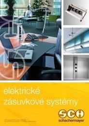 elektrické zásuvkové systémy - Schachermayer spol. s ro