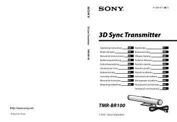 3D Sync Transmitter