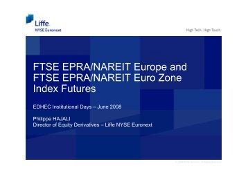 Presentation by Philippe Hajali - EDHEC-Risk